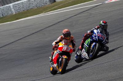 Detik-detik Kecelakaan Marc Marquez di GP Catalunya