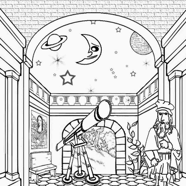 Solar system coloring pages to print for The solar system coloring pages