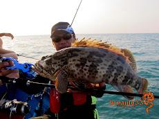 泰国宋卡红曹石斑钓游