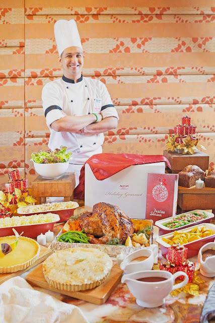 2013 Thanksgiving Day at Marriott Manila