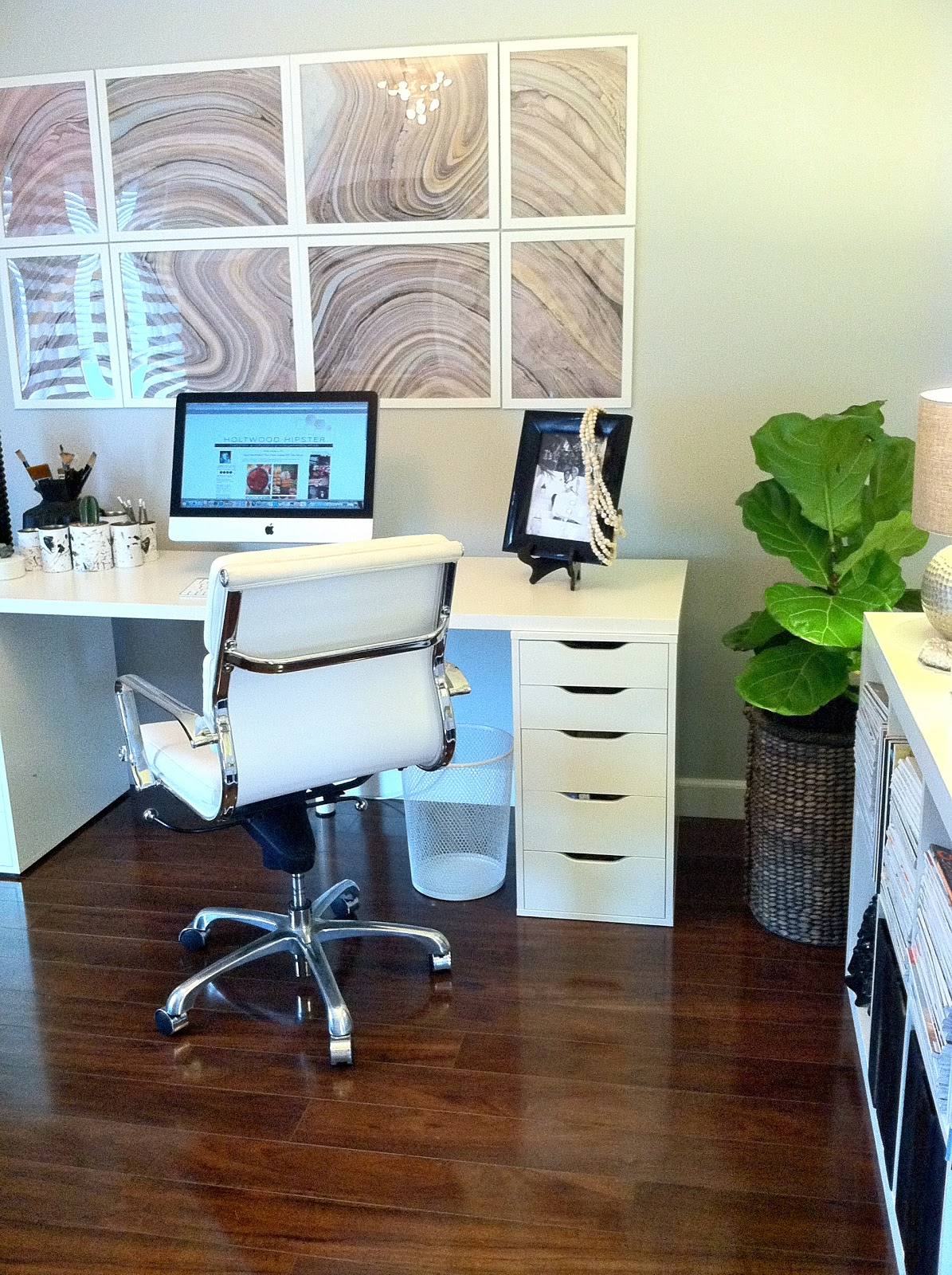 Hollywood desks hollywood glam desk space home for Home office space