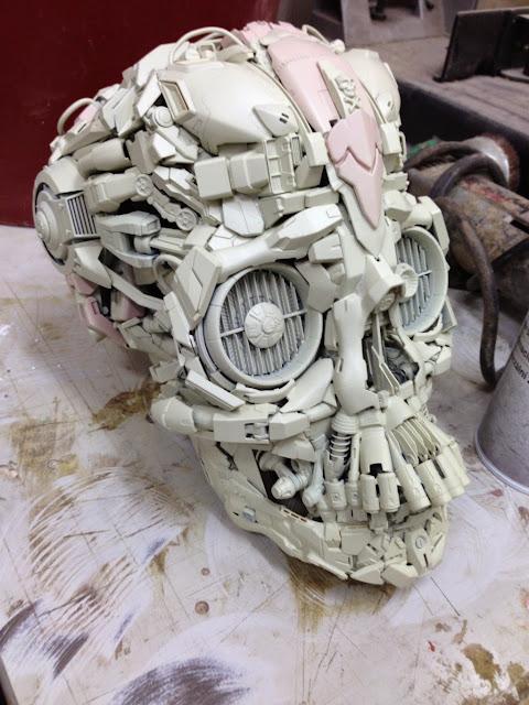 gundam skeleton bandai model kits