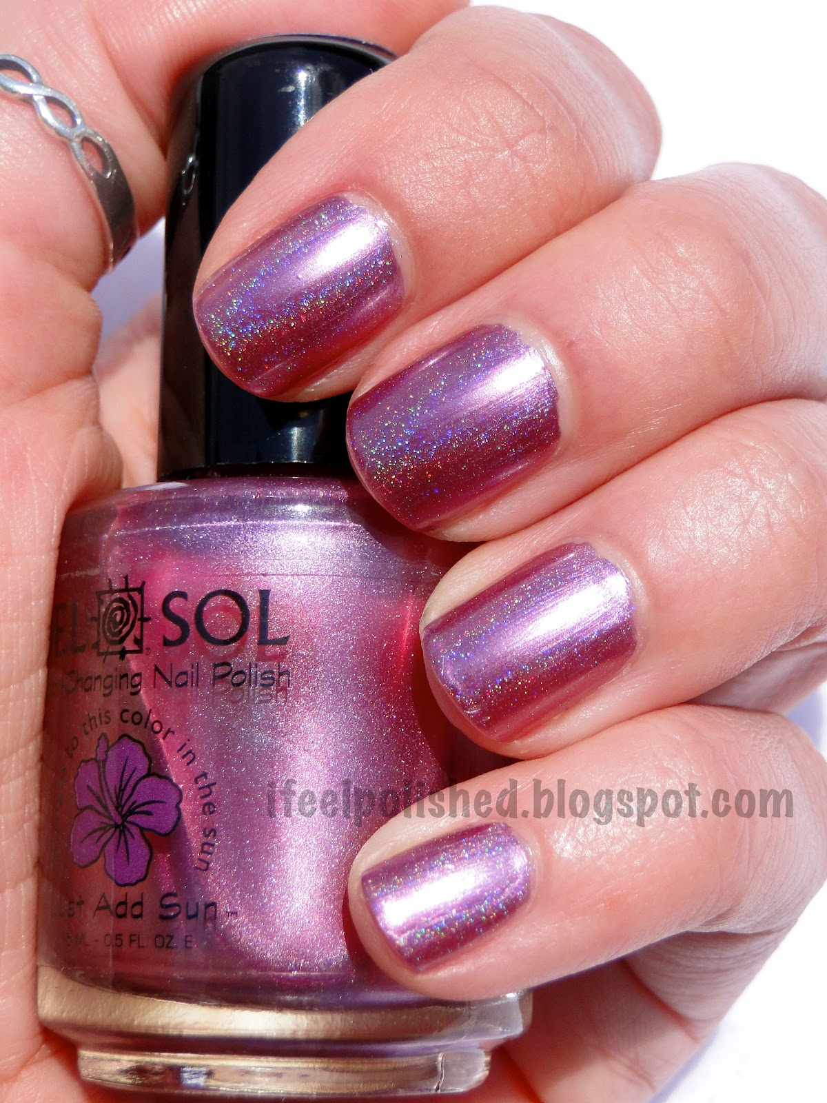 I Feel Polished!: Color Changing Holo