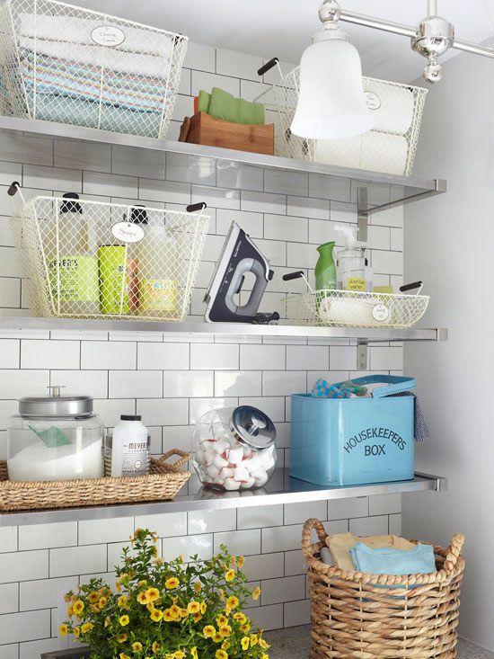 Interior relooking come organizzare la zona lavanderia - Zona lavanderia ...