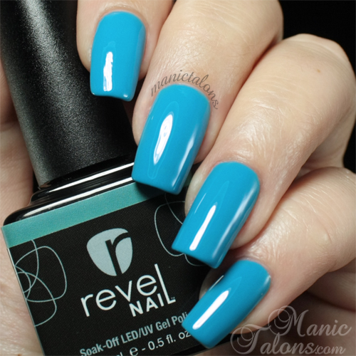Revel Nail Gel Polish Honeymoon Swatch