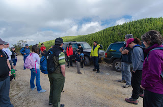Los caminates recibimos instrucciones previas al inicio de la ascensión a las lagunas de Siecha