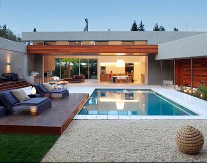 Fotos de terrazas terrazas y jardines terraza de casas - Fotos de casas con piscinas pequenas ...
