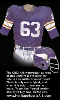 Minnesota Vikings 1974 uniform