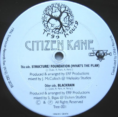 Citizen Kane – Structure / Foundation (What's The Plan) (VLS) (1996) (FLAC + 320 kbps)