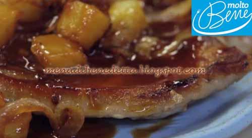 Nodini di Maiale all'Ananas ricetta Parodi per Molto Bene su Real Time