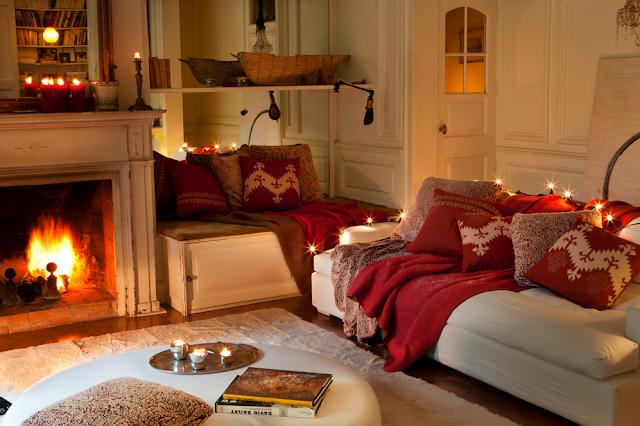Cushions cojines for Salones decorados para navidad