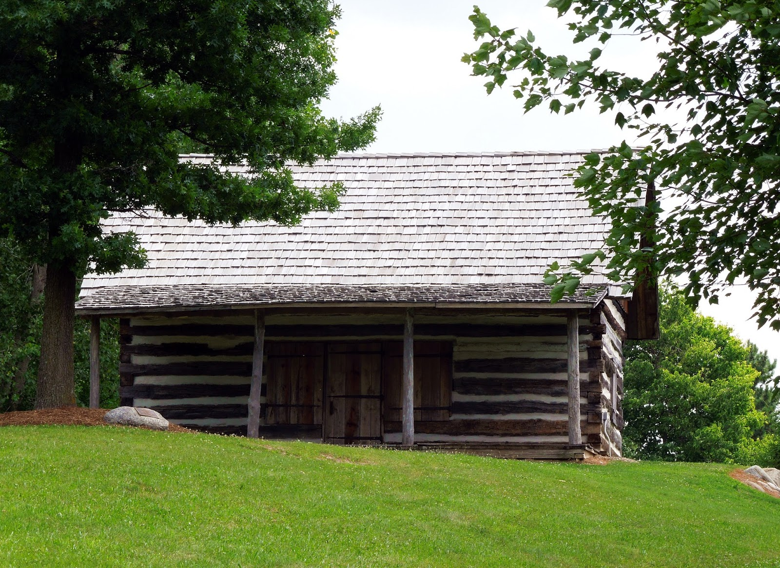 the log cabin was moved to the village in 2005 this was another building we were unable to visit