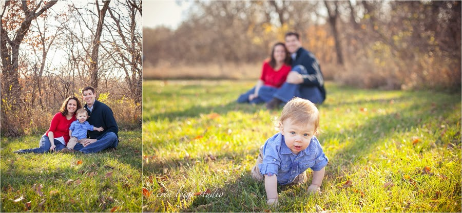 family photos at shawnee mission park