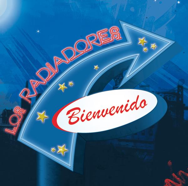 Disco LOS RADIADORES Bienvenido