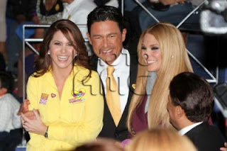 Teleton USA 2012 con Lucero, William Levy, Fernando Colunga y Blanca Soto (telenovelas )