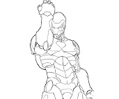 #15 Iron Man Coloring Page