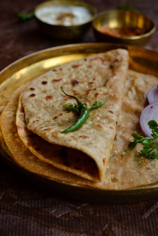 Aloo Paratha| Potato Masala Stuffed Indian Flatbread | Step by Step ...