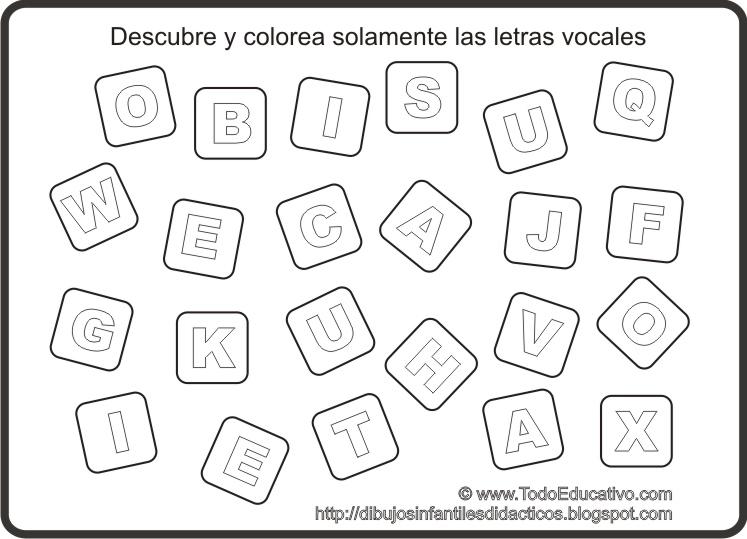 aprendiendo las vocales : aprendiendo las vocales