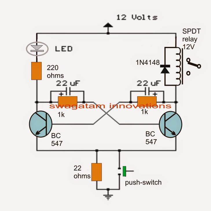 transistor bistable flip flop circuits circuit diagram centre