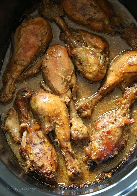 crock pot chicken thighs and drumsticks