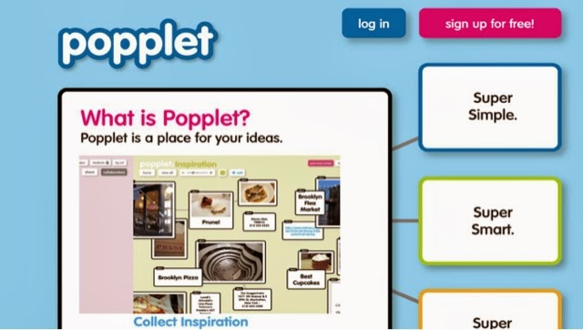 App, iPad App, Collaboration, Graphic Organizer, Mind Map, Thinking Map, Brainstorming