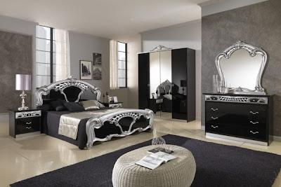 foto de dormitorio elegante