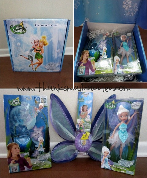 Secret of the Wings toys