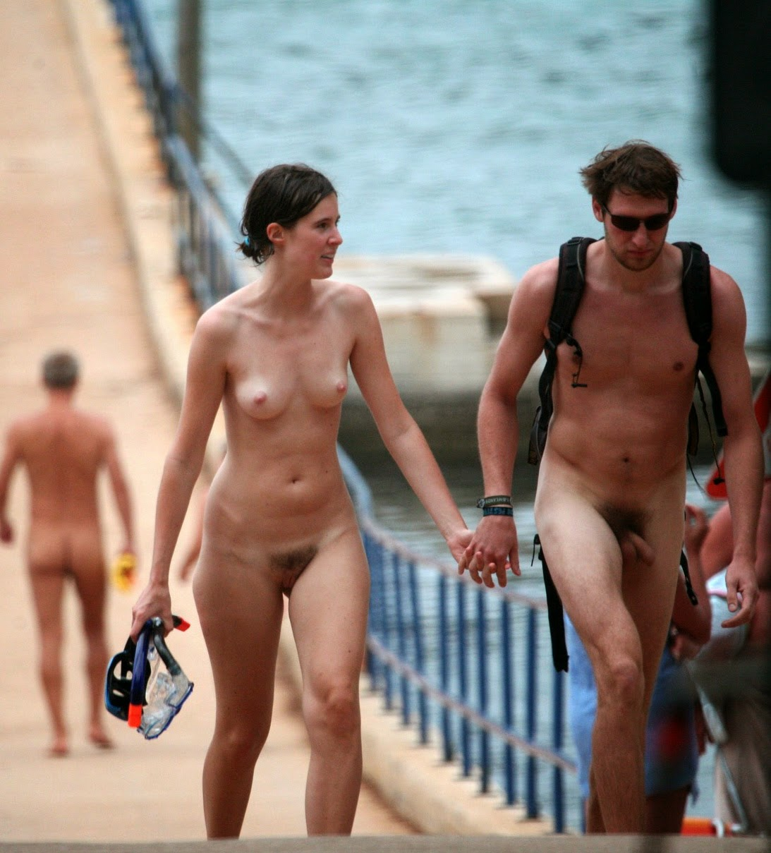 Something Nudist camp nude all