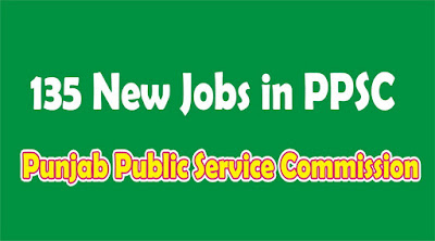 135 New Government jobs in PPSC