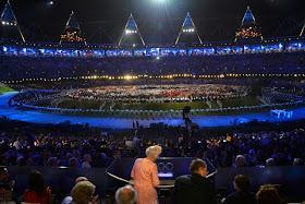 The Queen kicks-off London 2012 Olympics