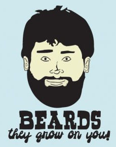 Beards, nature's contraceptive