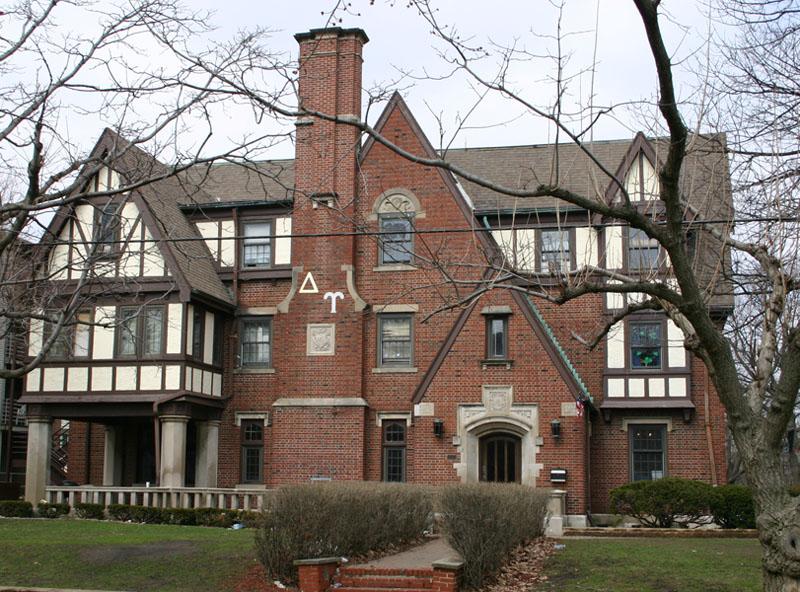 Beta Delta Gamma Sorority House Delta+Upsilon+-+U+Illinois+-+1926