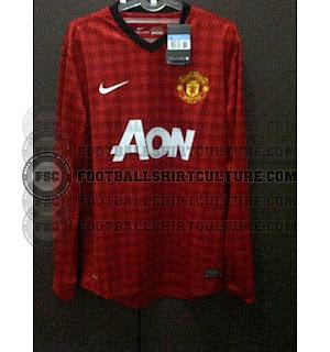 Man Utd new home kits 2013