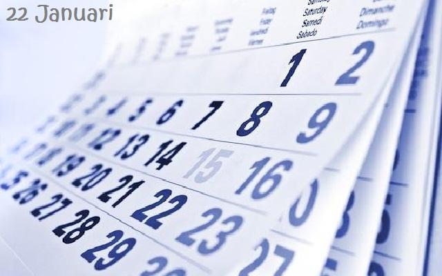 22 Januari Daftar Hari Nasional / Internasional