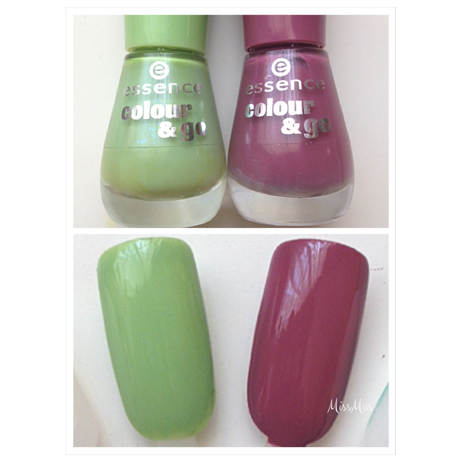 "ESMALTES ""130 WHAT'S MY NAME Y 150 UPPER GREEN SIDE"" (Essence)"