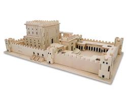 Rompecabezas 3D Templo Jerusalém  26 x 15 x 10 ctms.