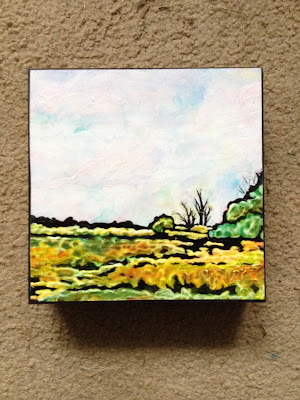 Elgin county, landscape, pastoral painting, Robin Baratta