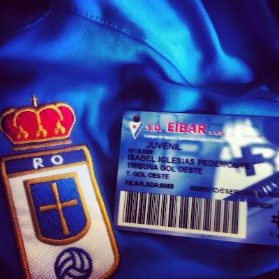 Oviedistas se hacen socios del Eibar para asistir al partido de play-off