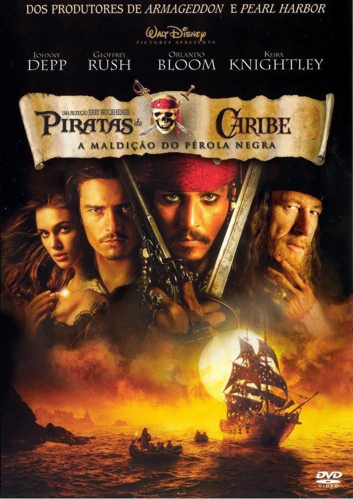 Piratas do Caribe: A Maldição do Pérola Negra – Dublado (2003)