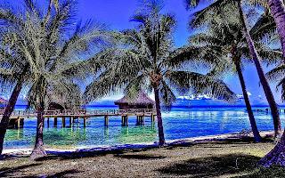 Kia Ora, Rangiroa en polinesia francesa fotografias de islas