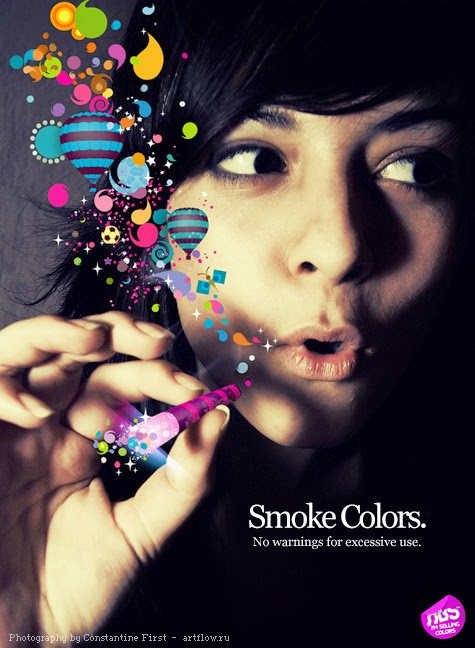 Avatar con gái hút thuốc đẹp