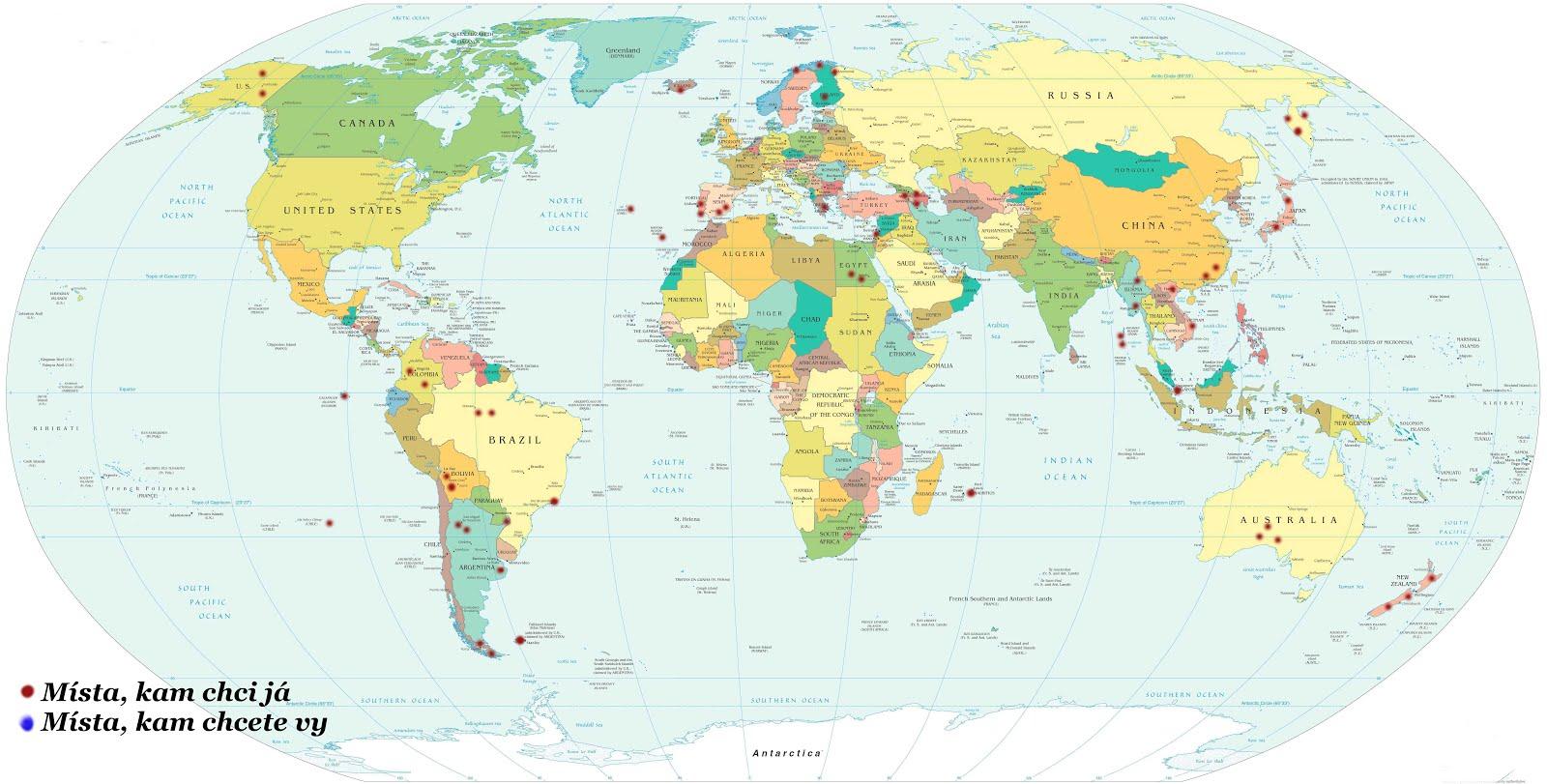 Cestovatelská mapa