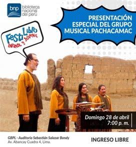 BIBLIOTECA NACIONAL DEL PERÚ / 28 Abril