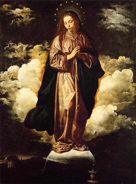 Diego Velazquez, The immaculate Conception, Virgin Mary