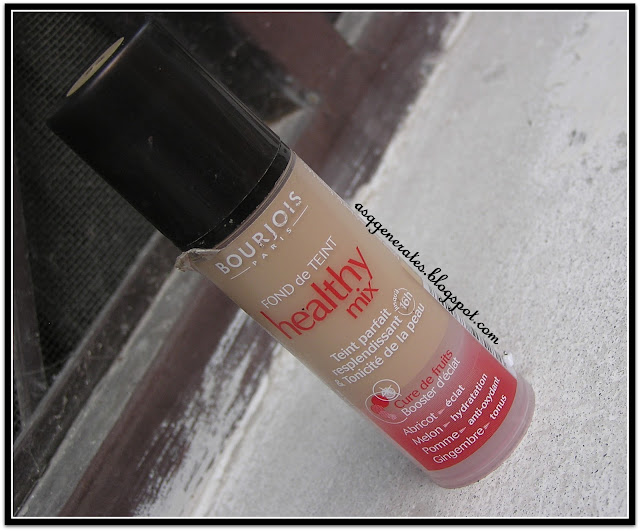 Bourjois Healthy Mix Foundation packaging