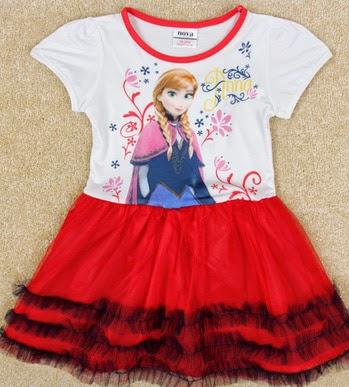 Vestidos,  Diseños Originales Frozen