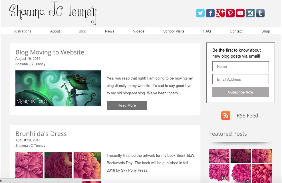 website blogspot