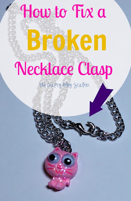 How to Fix a Broken Necklace Clasp Tutorial
