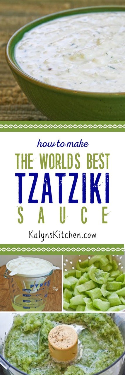 Make the World's Best Tzatziki Sauce (Greek Yogurt and Cucumber Sauce ...