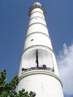 Dharahara a is nine story tower at the center of Kathmandu sundhara
